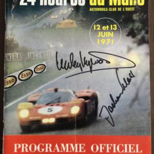 1971-24-Hours-of-Le-Mans-Autographed-Program