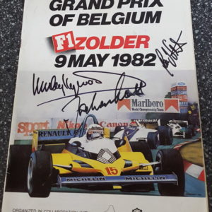 1982 Belgium Grand Prix Cover