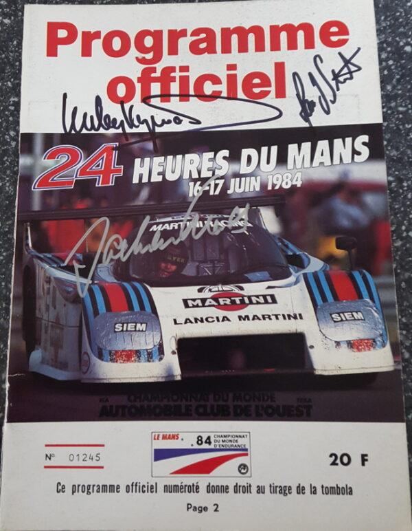 1984 Le Mans Program