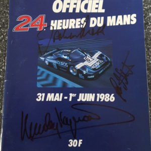 1986 LeMans Program