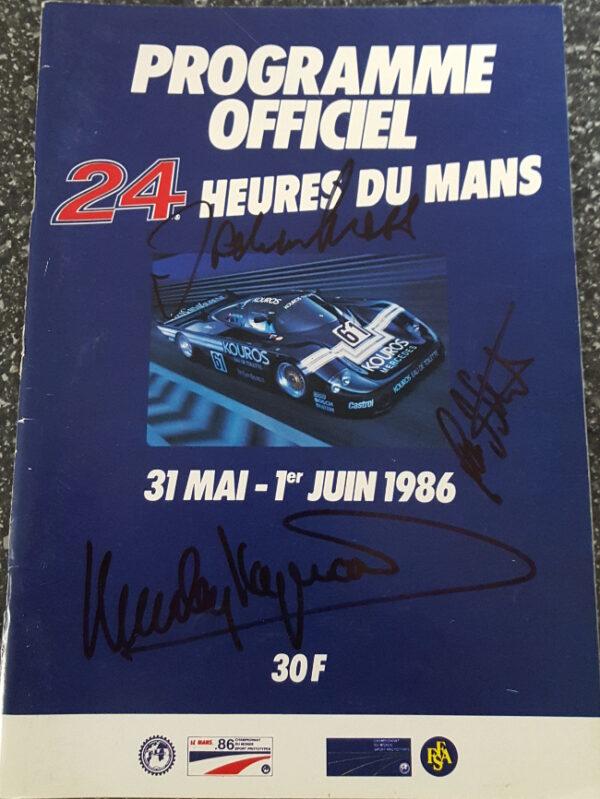 1986 LeMans Program