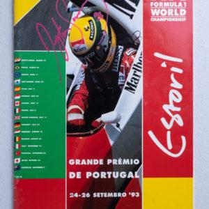 1993 Portugal GP Program