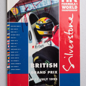 1993 Silverstone British GP Program