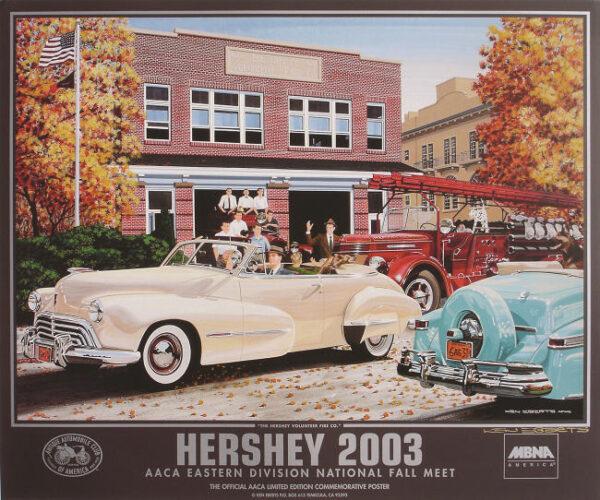 2003 Hershey Poster - Ken Eberts