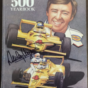 Original autographed Indianapolis 500 yearbook 1980 for sale