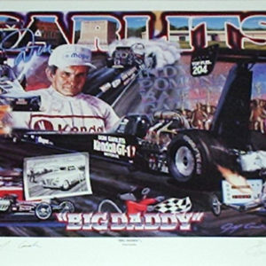 Big Daddy Signed by Don Garlits
