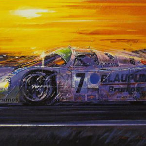 Daytona Porsche Image Close up - Nicholas Watts