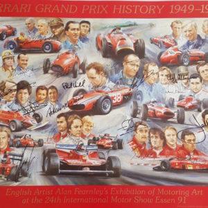 Ferrari Grand Prix History