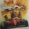 "Goodyear #3 "" Bugatti- Mercedes Benz- Ferrari Poster"""