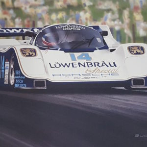 Lowenbrau Porsche - Bucher - Close Up
