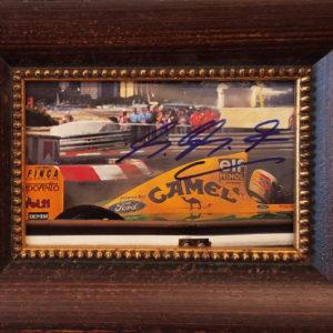 Michael Schumacher Framed Photo