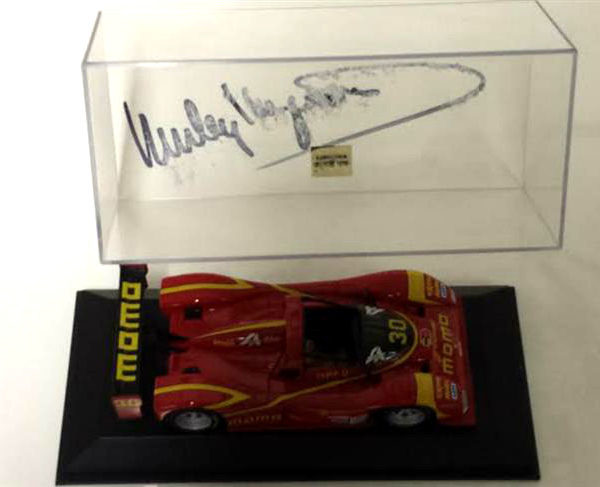 Momo Diecast Signed by Haywood