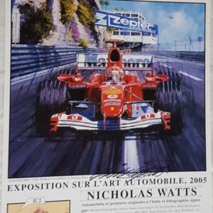 Monaco 05 Poster - Nicholas Watts