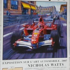 Monaco 07 Poster - Nicholas Watts