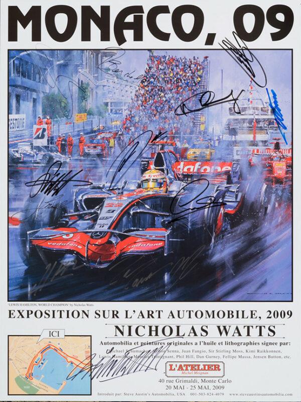 Monaco 09 Poster - Watts