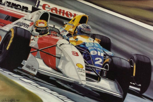 Colin Carter Formula one racing wall art for sale