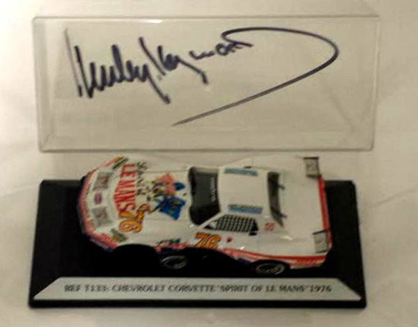 Spirit of Le Mans Diecast Signed by Haywood