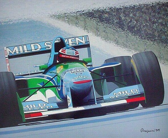Young Giant - Arthur Benjamins - Michael Schumacher