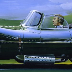 Jag XKSS McQueen - Charles Maher