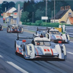 Audis on the Mulsanne - Simon Ward