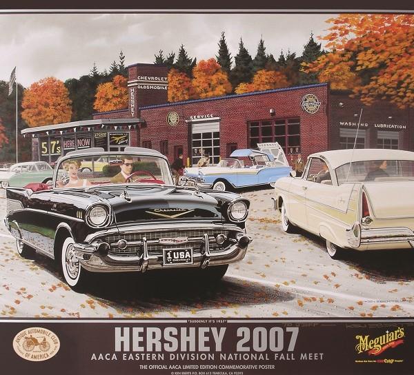2007 AACA National Fall Meet (Hershey) Poster