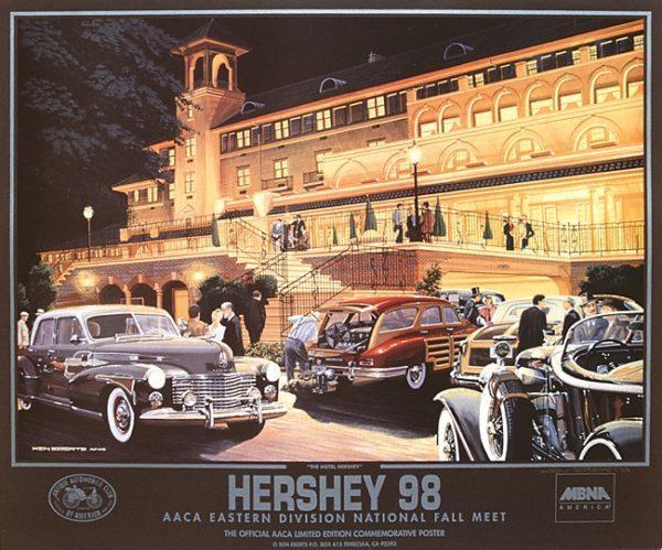 1998 National Fall Meet (Hershey) Poster