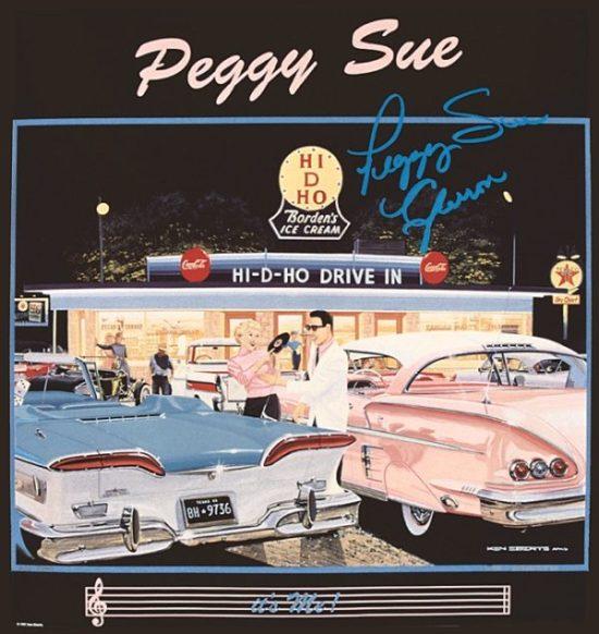 Peggy Sue Poster – Ken Eberts