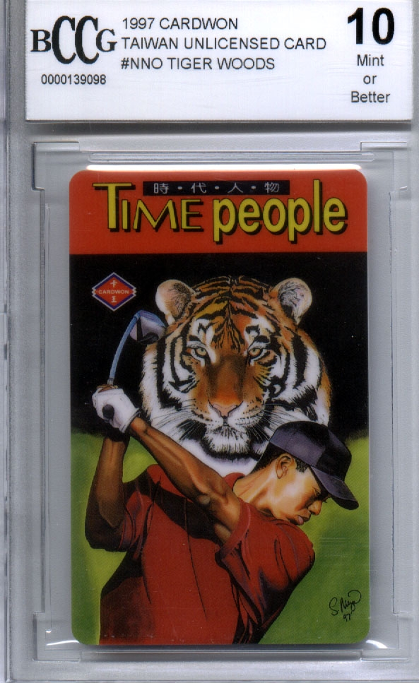 Tiger Woods 1997 Rookie Card