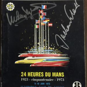 1973 Le Mans Program
