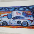 Famous 59 by Roger Warrick signed autographed