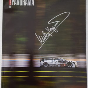 Porsche Panorama August 2014 Signed by Haywood