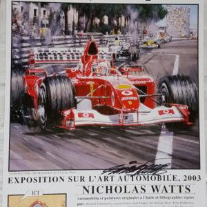 Monaco 03 Poster - Nicholas Watts