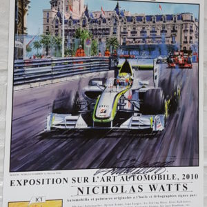Monaco 10 Poster - Nicholas Watts