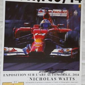 Monaco 14 Poster - Nicholas Watts