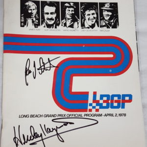 1978 Long Beach Program Signed by Stuck_Haywood