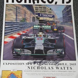 Monaco 15 Poster - Nicholas Watts