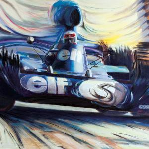 Jackie Stewart – Tyrrell-Ford 006_Alex Wakefield