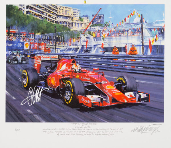 Sebastian Vettel - Street Fighter