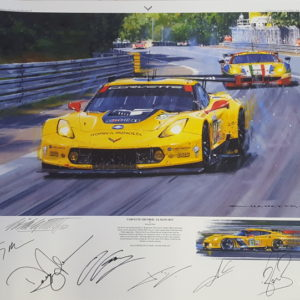 Corvette Thunder - LeMans 2015 with remarque