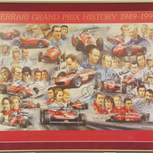 Framed_Ferrari Grand Prix History
