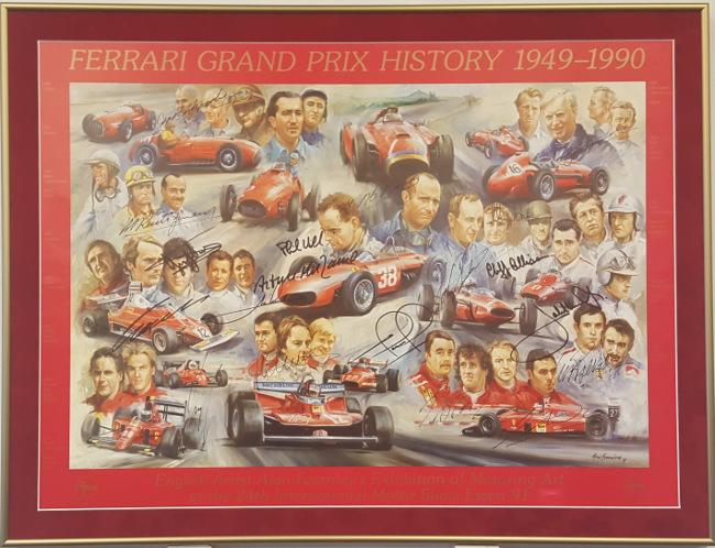 Framed_FerrariGrandPrixHistory