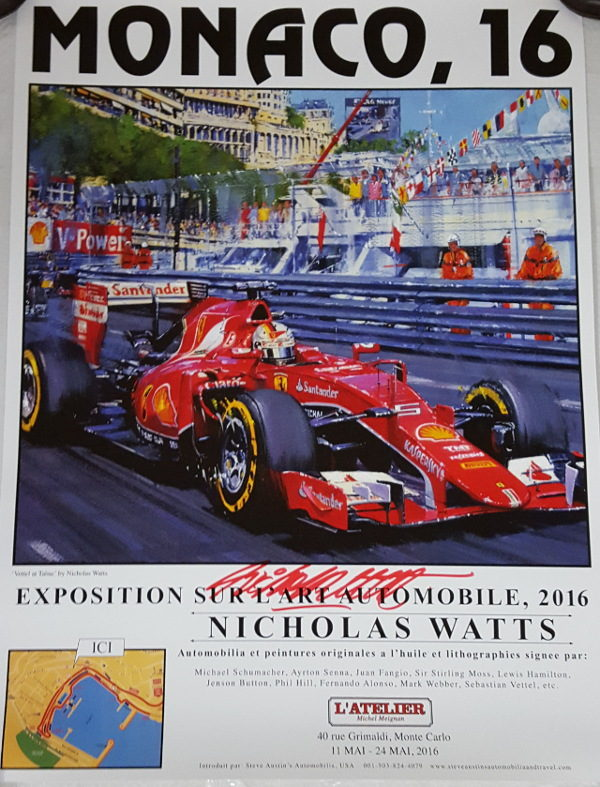 Monaco 16 Poster - Nicholas Watts