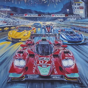 Petit LeMans 2015 by Roger Warrick
