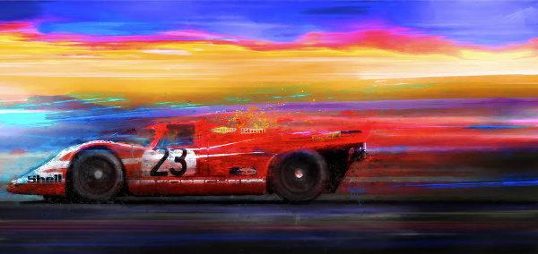 1971 Porsche 917 Alan Greene