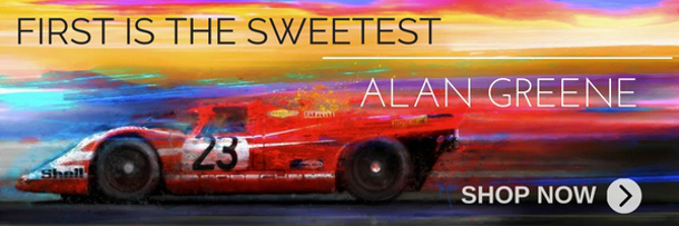 ALAN GREENE: First is the Sweetest