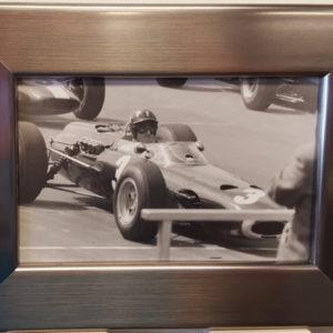 Graham Hill 1965 Silverstone Framed Photo