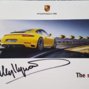 New 911 Brochure Signed by Haywood