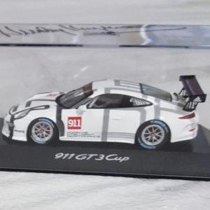Porsche 911 Die Cast GT3 Signed by Haywood