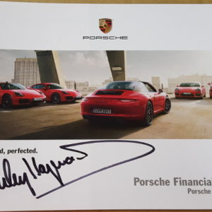 Porsche Financial Services Signed by Haywood