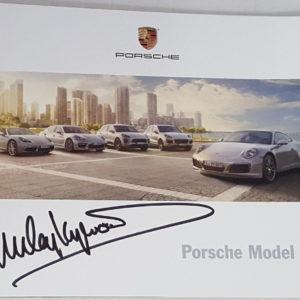 Porsche Model Range Brochure